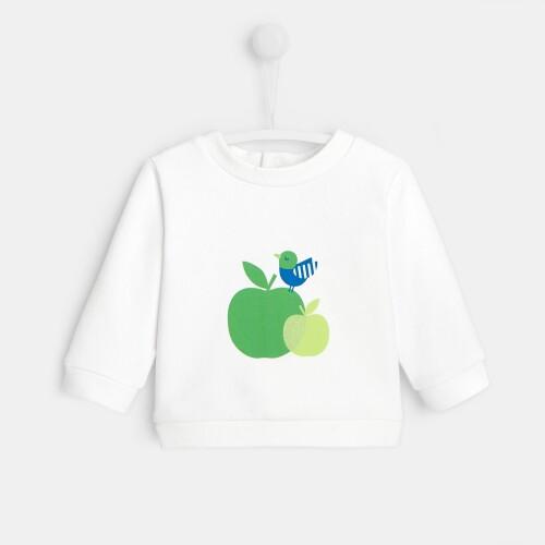 Baby fleece sweatshirt
