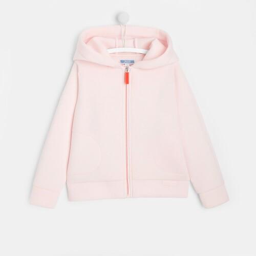 Girl zippered sweatshirt