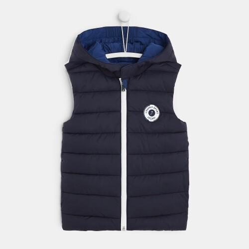 Boy reversible puffer jacket
