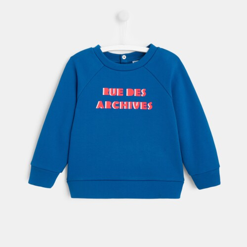Girl slogan sweatshirt