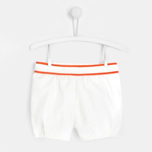 Toddler girl cotton piqué shorts