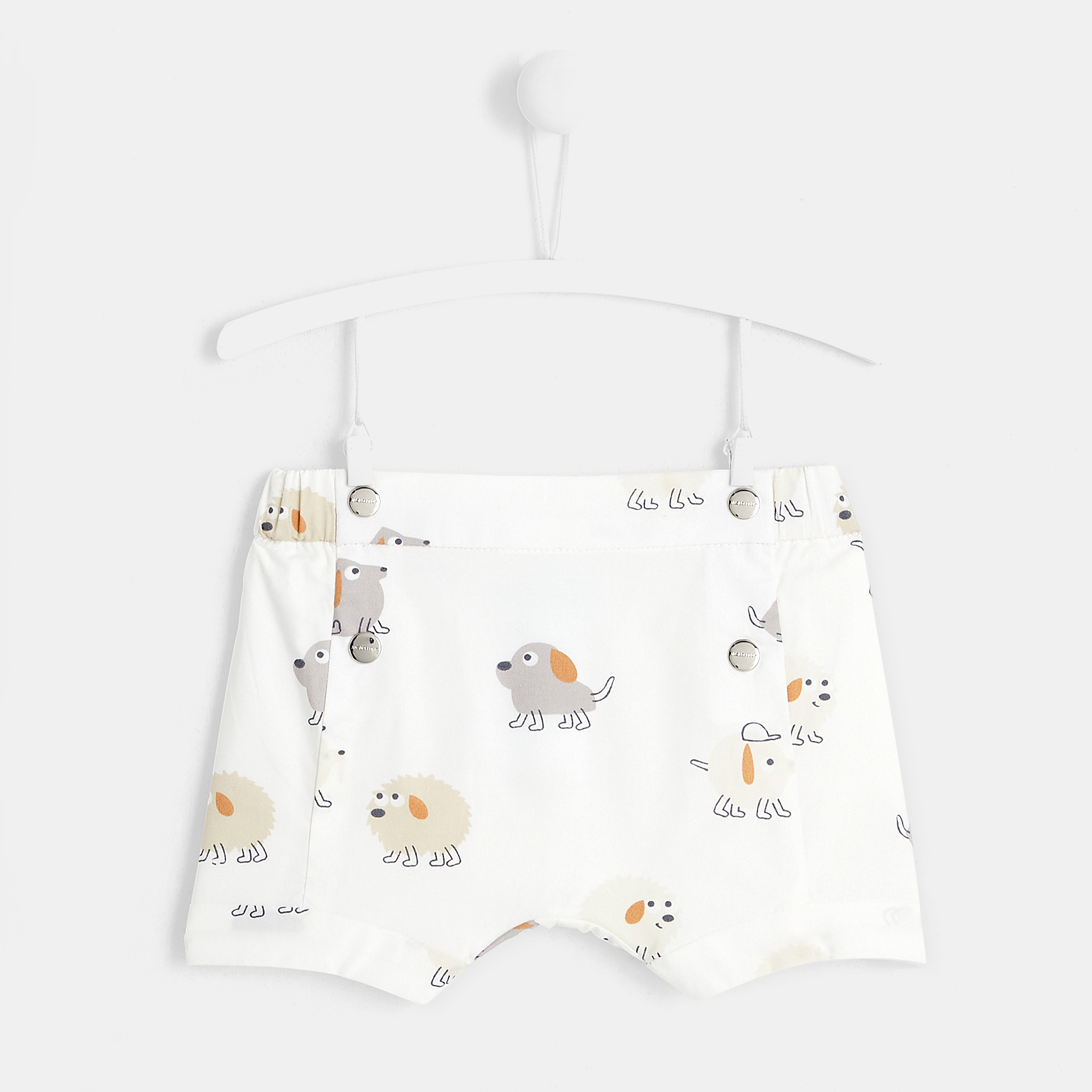 Baby boy printed shorts
