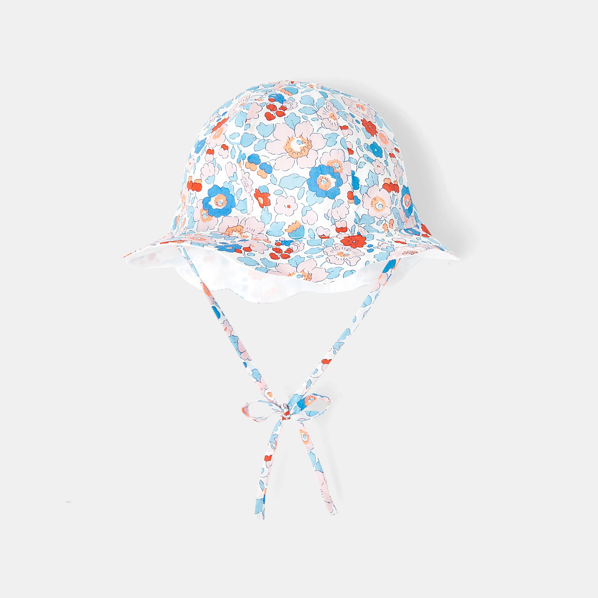 Baby girl Liberty print hat
