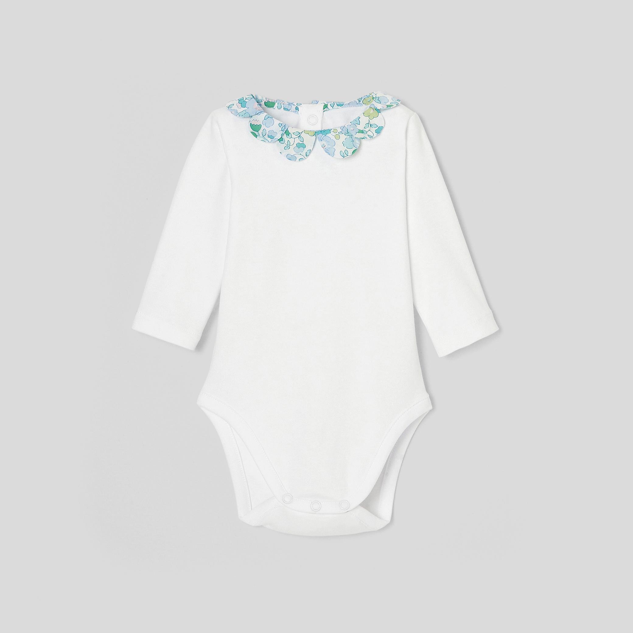 Baby girl long-sleeved bodysuit