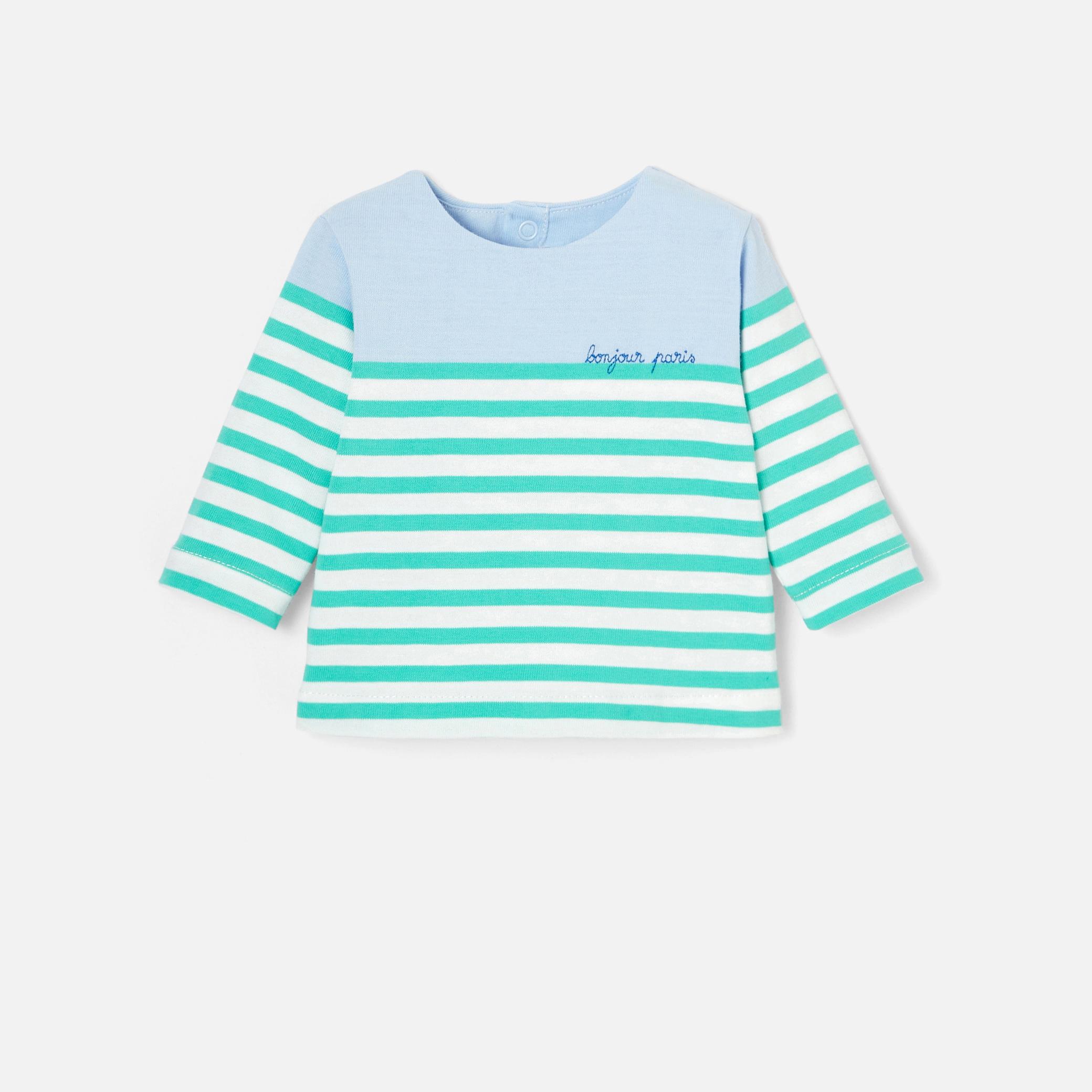 Baby boy sailor stripe shirt