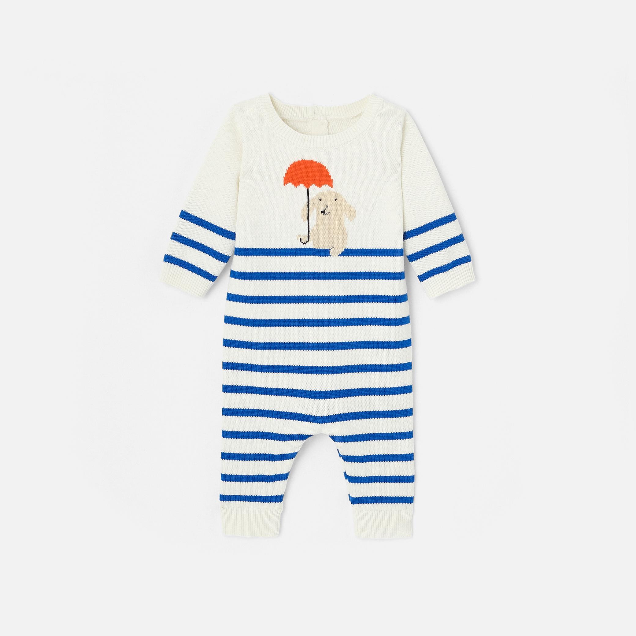 Baby boys striped onesie